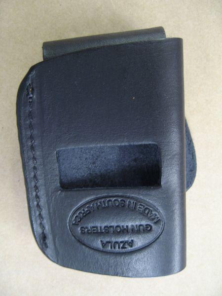 Universal Leather Belt Slide Holster – Azula Gun Holsters