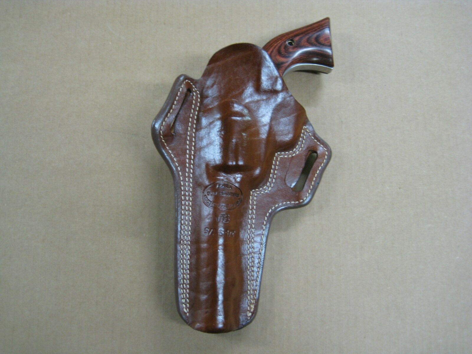 2 Slot Single Action Revolver Pancake Holster