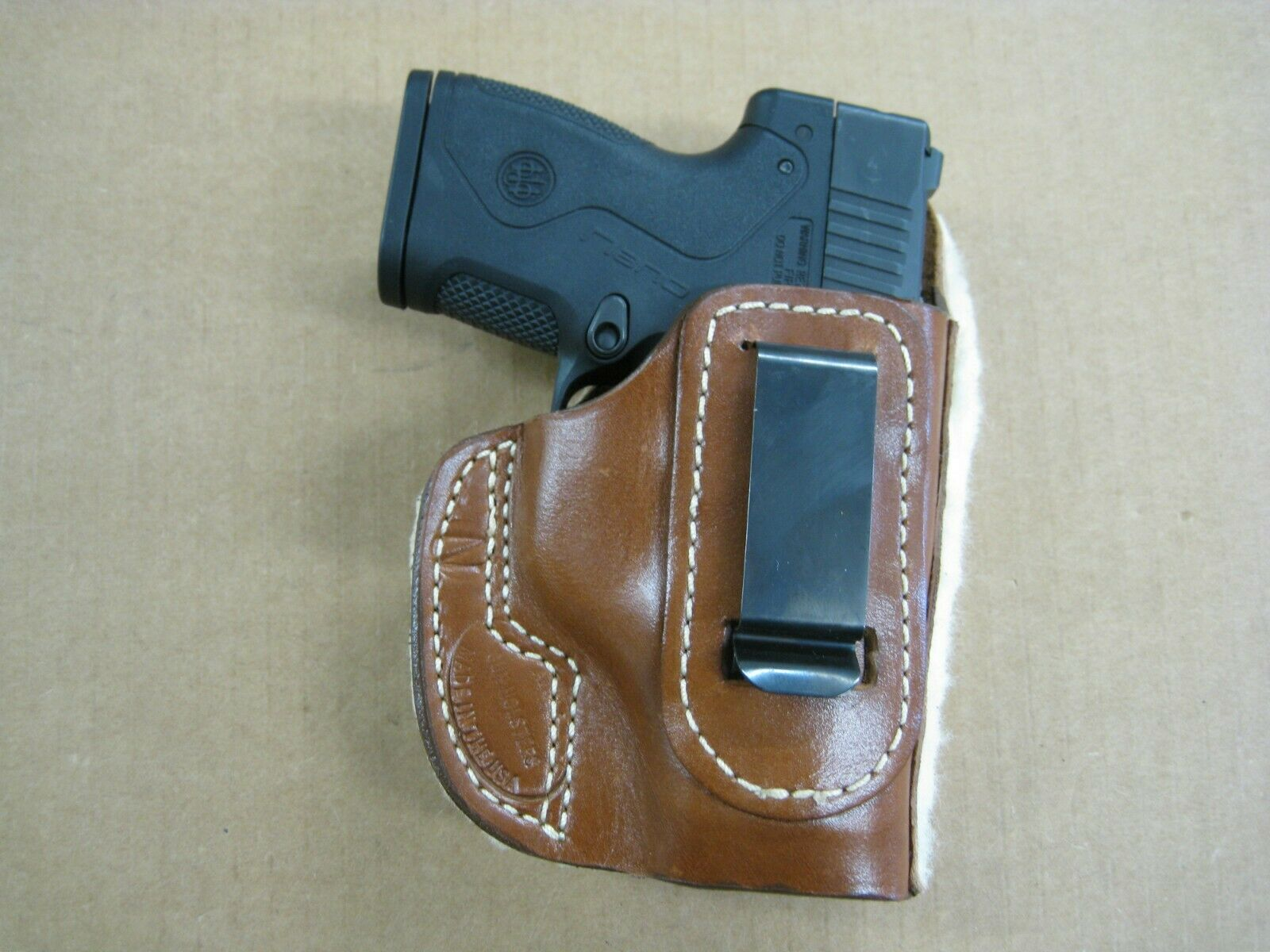 Concealment Leather Soft sheep Leather IWB OR OWB Formed Tactical Gun Holster