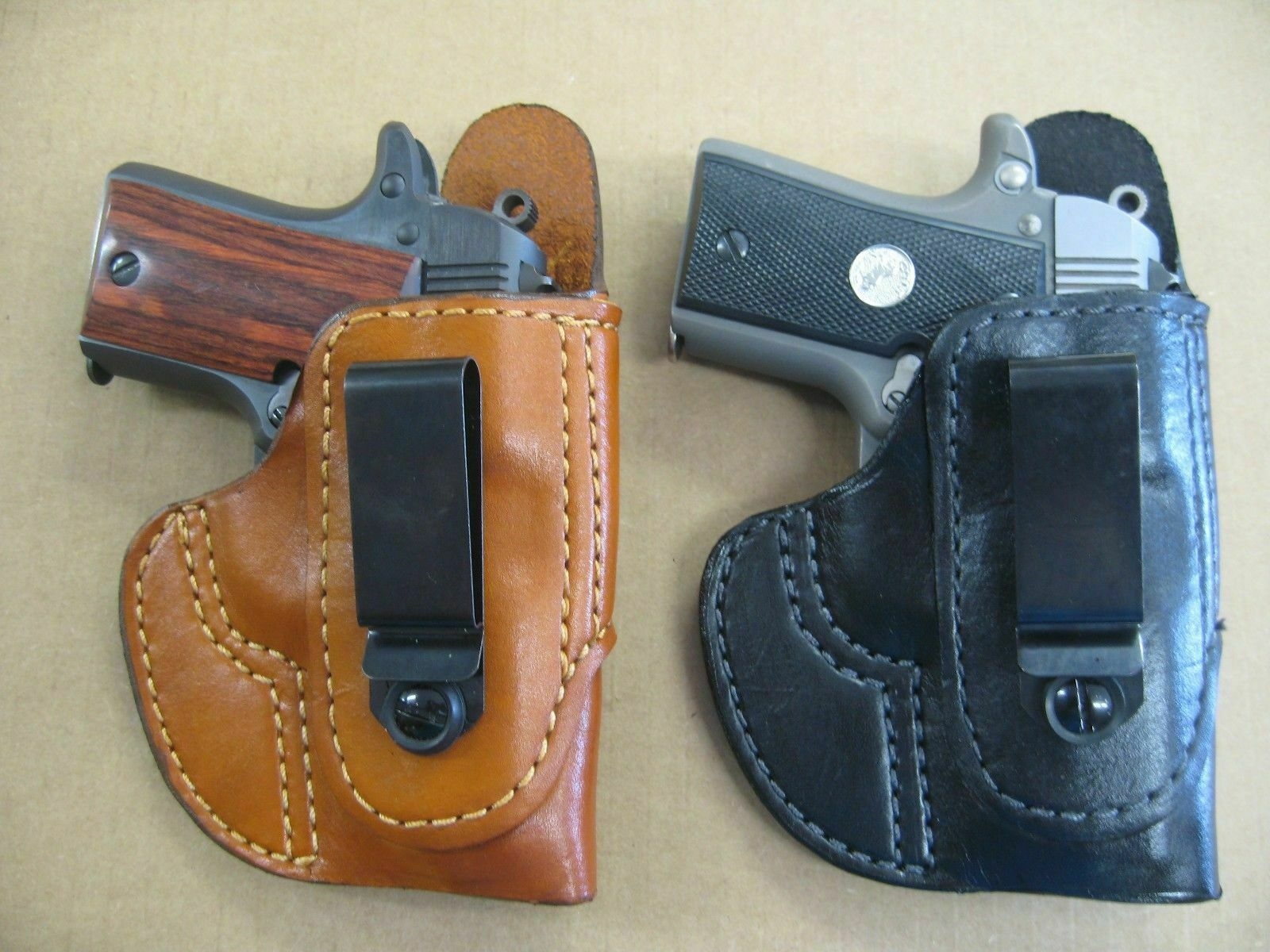 IWB TUCKABLE NON COLLAPSING In The Waist Band Concealment Holster